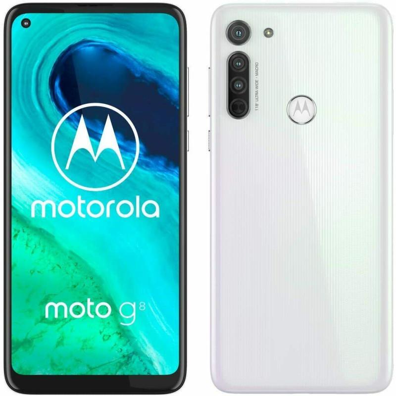 Смартфон Motorola Moto G8 4/64GB XT2045-2 Pearl white (Global version)