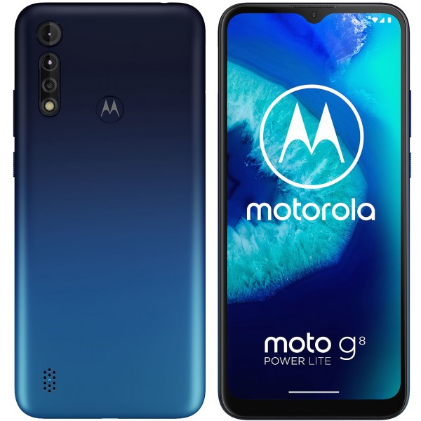 Смартфон Motorola G8 Power Lite 4/64GB Royal Blue (Global version)