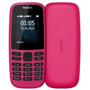 Мобильный телефон Nokia 105 DS 2019 Pink (16KIGP01A01) UA