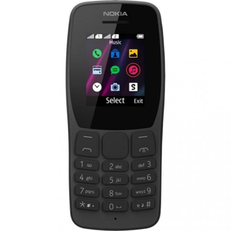 Мобильный телефон Nokia 110 Dual Sim 2019 black (16NKLB01A07) (UA)