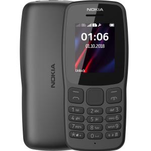 Мобильный телефон Nokia 106 New DS Grey (16NEBD01A02) UA