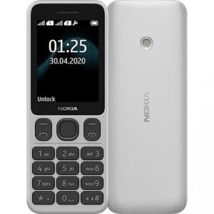 Мобильный телефон Nokia 125 Dual SIM white (UA)