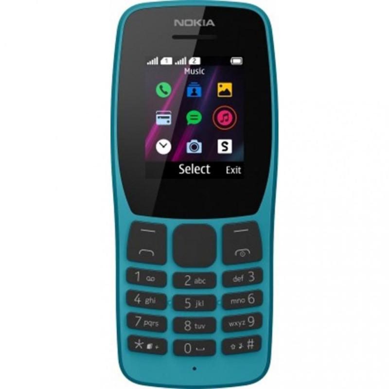 Мобильный телефон Nokia 110 Dual Sim 2019 blue (16NKLL01A04) (UA)