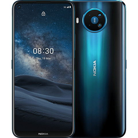 Смартфон Nokia 8.3 5G 6/64GB polar night (EU)
