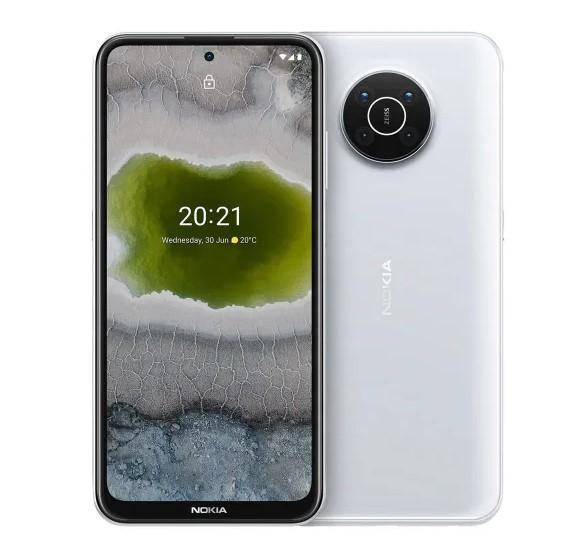 Смартфон Nokia X10 4/128GB Snow (EU)