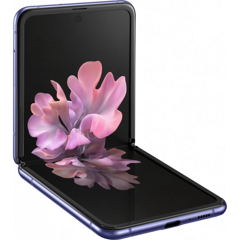 Смартфон Samsung Galaxy Z Flip SM-F700 8/256GB Mirror Purple (SM-F700FZPD) (UA)