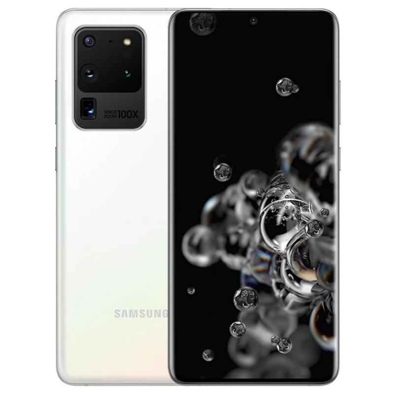 Смартфон Samsung Galaxy S20 Ultra 5G SM-G988B 12/128GB white