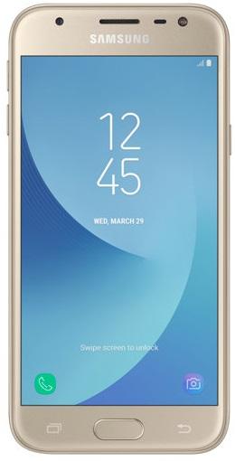 Samsung Galaxy J3 2017 Duos gold (SM-J330FZDD) (UA)