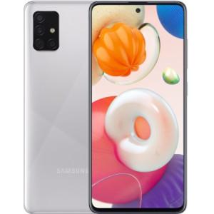 Смартфон Samsung Galaxy A51 SM-A515F 6/128GB Metallic Silver (SM-A515FMSW) UA