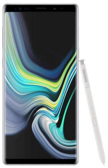 Смартфон Samsung Galaxy Note 9 N960 6/128GB alpine white