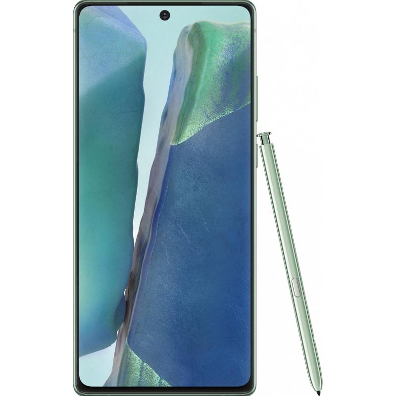 Смартфон Samsung Galaxy Note20 5G N9810 8/256GB Mystic green