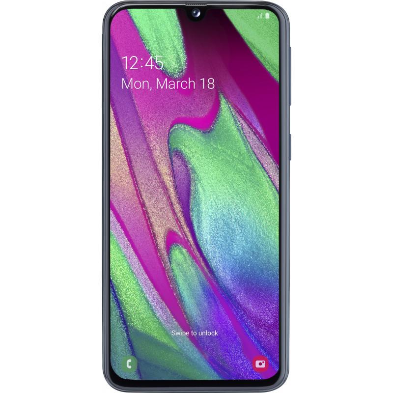 Смартфон Samsung Galaxy A40 2019 SM-A405F 4/64GB black (SM-A405FZKD)