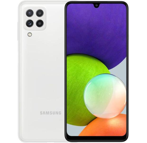 Смартфон Samsung Galaxy A22 4/128GB White (SM-A225FZWG)