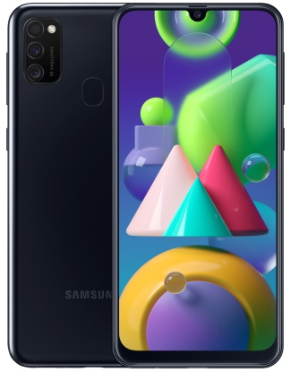 Смартфон Samsung Galaxy M21 4/64GB black (SM-M215FZKU) (UA)