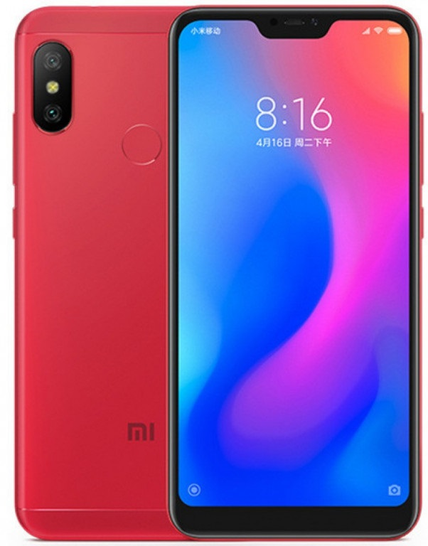 Смартфон Xiaomi Mi A2 lite 4/64GB red (Global version)