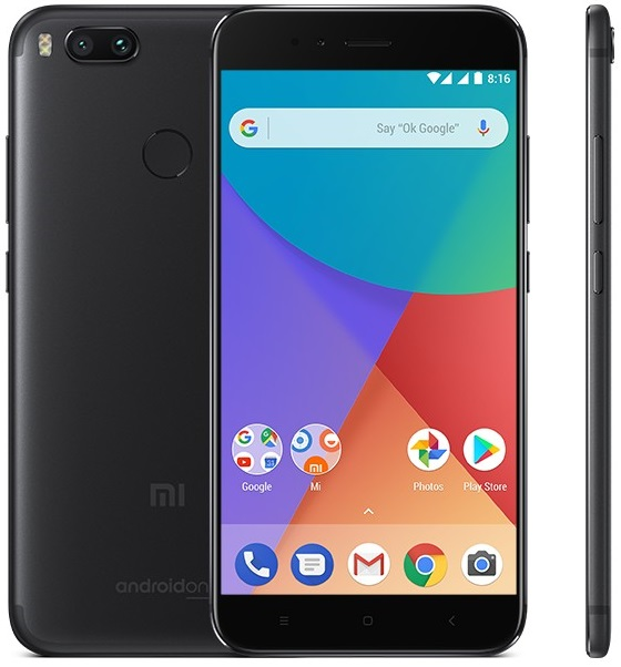 Xiaomi Mi A1 4/64GB black (Global version)