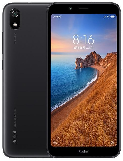 Xiaomi Redmi 7a 2/16GB matte black (Global version)