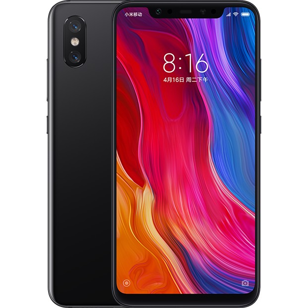 Xiaomi Mi 8 6/128GB black (Global version)