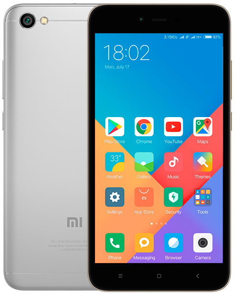 Смартфон Xiaomi Redmi 5a 2/16GB grey (Global version)