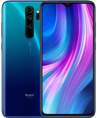 Смартфон Xiaomi Redmi Note 8 Pro 6/64GB blue (Global version)