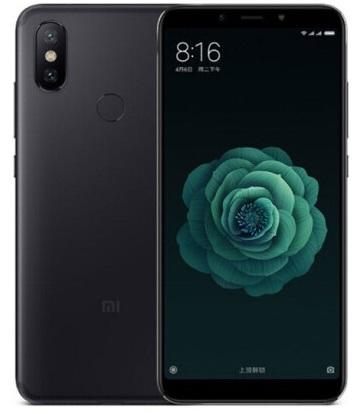 Смартфон Xiaomi Mi 6X 4/64GB black (Global Version)