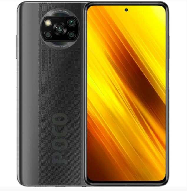 Смартфон Xiaomi Poco X3 NFC 6/128GB Shadow Gray (Global)