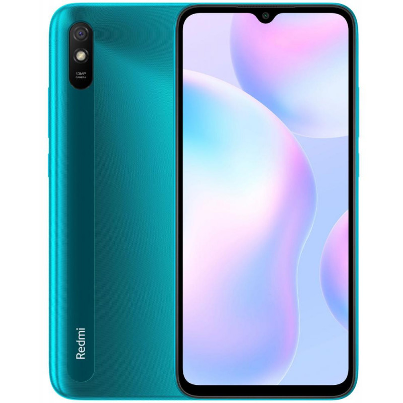 Смартфон Xiaomi Redmi 9A 2/32GB Peacook green (UA)