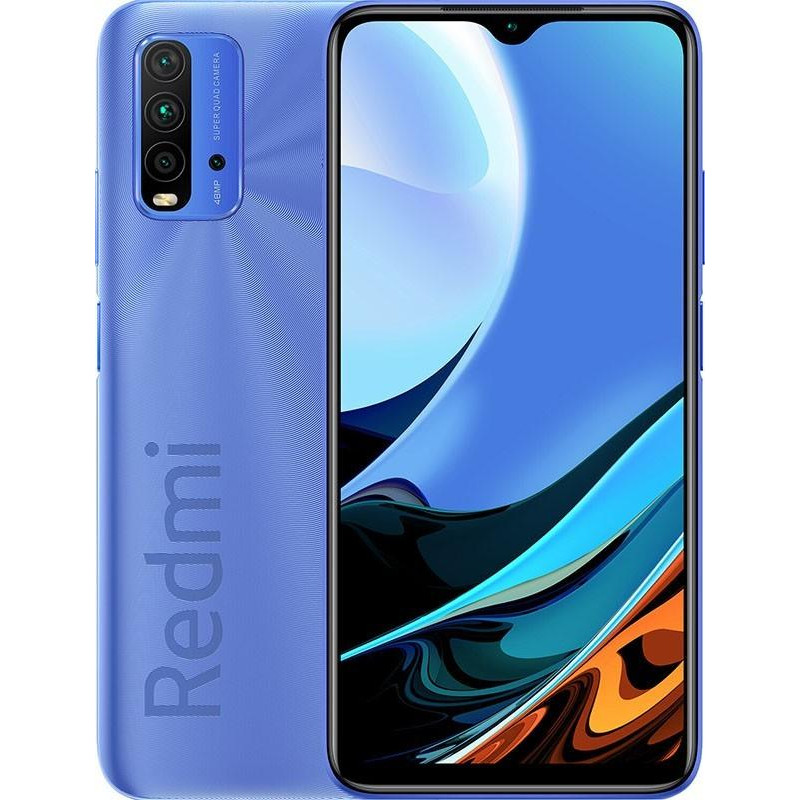 Смартфон Xiaomi Redmi 9T 4/64GB Twilight blue no NFC (EU)