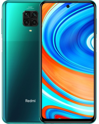 Смартфон Xiaomi Redmi Note 9 Pro 6/64GB Tropical green (Global Version)
