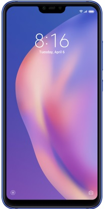 Xiaomi Mi 8 Lite 6/128GB Aurora blue (Global version)