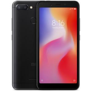 Смартфон Xiaomi Redmi 6 4/64GB black (Global version)