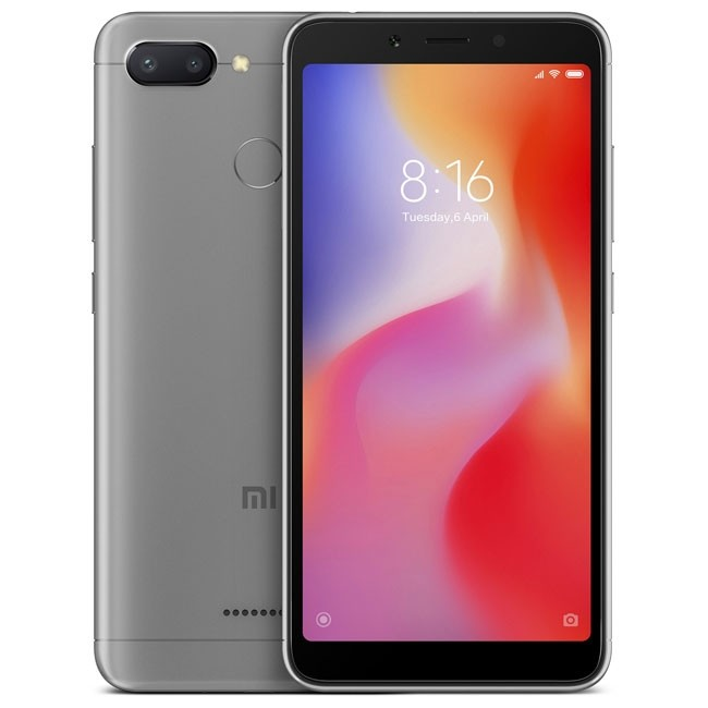 Xiaomi Redmi 6 3/32GB grey (Global version)
