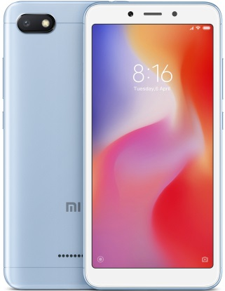Смартфон Xiaomi Redmi 6A 2/16GB blue
