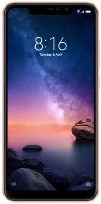 Смартфон Xiaomi Redmi Note 6 Pro 4/64GB rose gold (Global version)