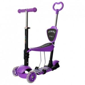 Самокат 5в1 iTrike Maxi JR 3-026-K (violet)