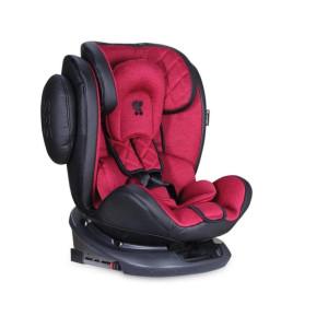 Автокресло Bertoni Lorelli AVIATOR ISOFIX black/red (21262)