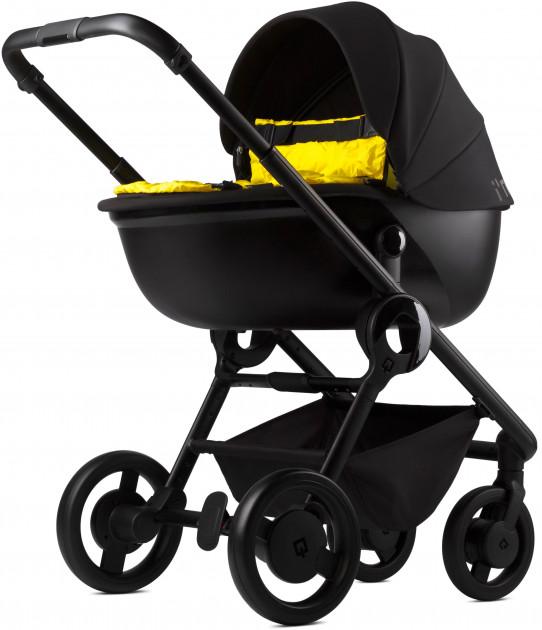 Универсальная коляска 2 в 1 Anex Quant Qn (03) flame/yellow