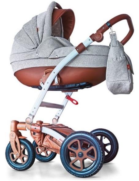 Универсальная коляска 2 в 1 Tutek Torero Eco STOECO10 BR/B