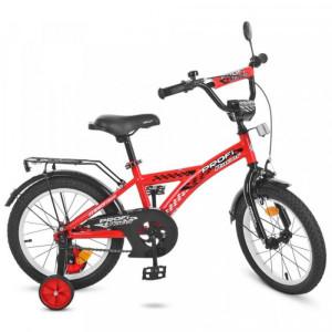 Детский двухколесный велосипед PROFI T1431 Racer red