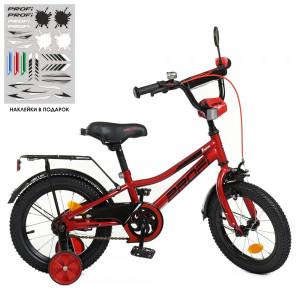 Детский двухколесный велосипед PROFI Y12221 Prime red