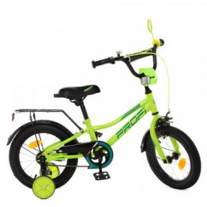 Детский двухколесный велосипед Profi Y12225 green