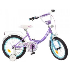 Детский двухколесный велосипед PROFI Y1615 Princess lilac/mint