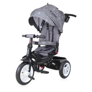 Детский трехколесный велосипед Bertoni Jaguar Air grey stars