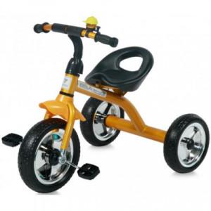 Детский трехколесный велосипед Bertoni Lorelli A28 golden/black