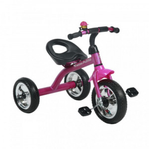 Детский трехколесный велосипед Bertoni Lorelli A28 pink/black