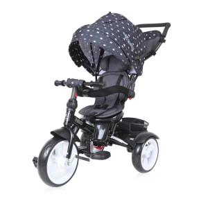 Детский трехколесный велосипед Bertoni Neo black crowns