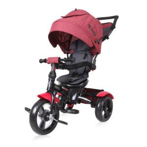 Детский трехколесный велосипед Bertoni Neo red/black luxe