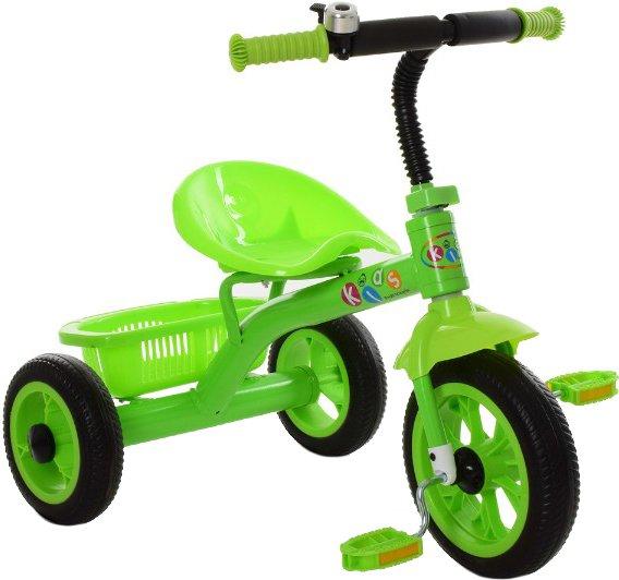 Детский трехколесный велосипед Profi M 3252-B green
