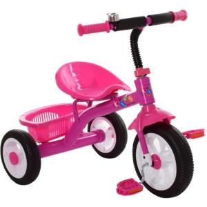 Детский трехколесный велосипед Profi M 3252-B pink
