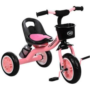 Детский трехколесный велосипед Turbotrike M 3197-M-1 light pink